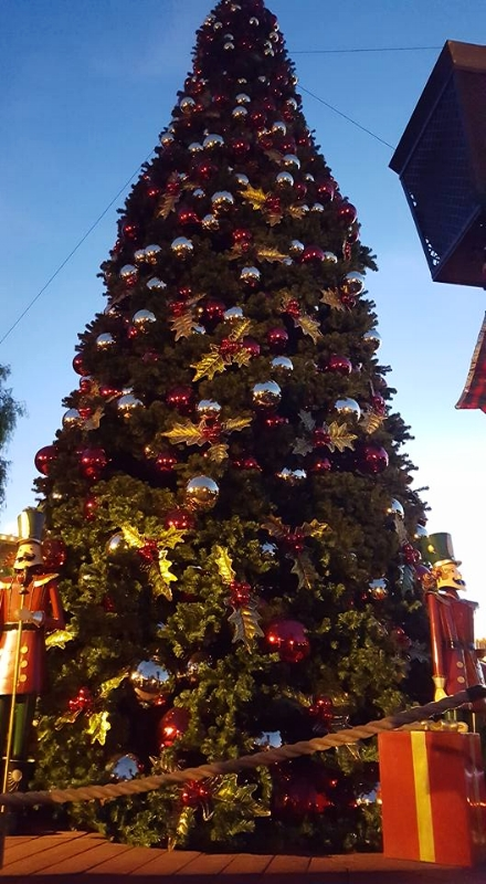 Don't miss the nightly tree lighting in Calico along with the nightly snow fall!