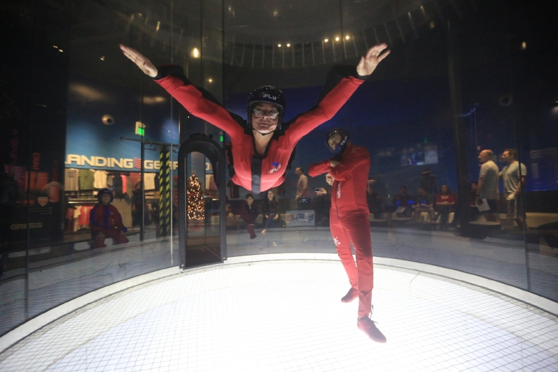 iFLY Ontario (c) Cleverly Catheryn