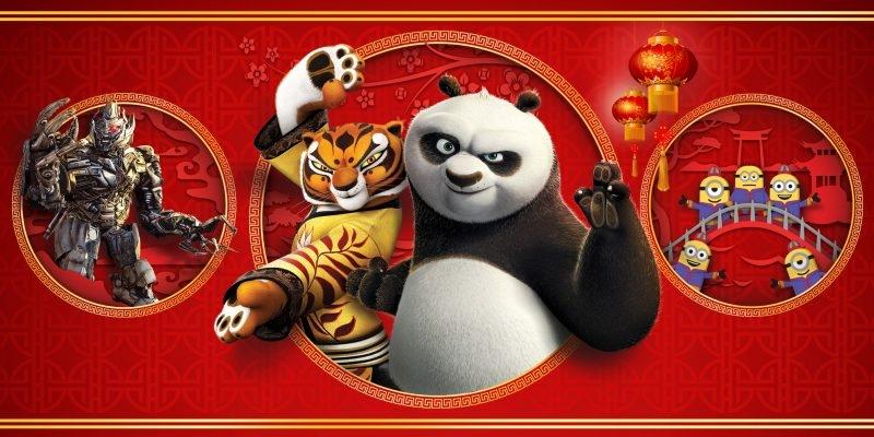 Lunar New Year at Universal Studios Hollywood