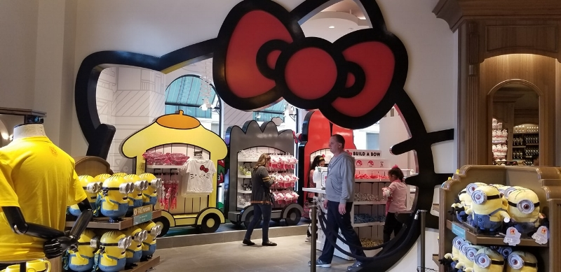 Animation  Studio Store at Universal Studios Hollywood (c) cleverly catheryn