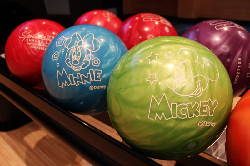 Oh boy! Mickey and Minnie Bowling Balls