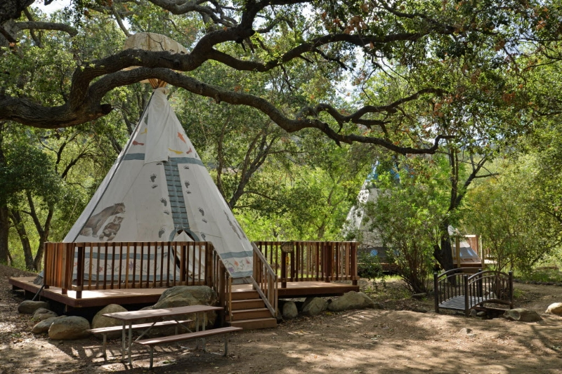 Ever stay in a tepee? Here's your chance at KOA.