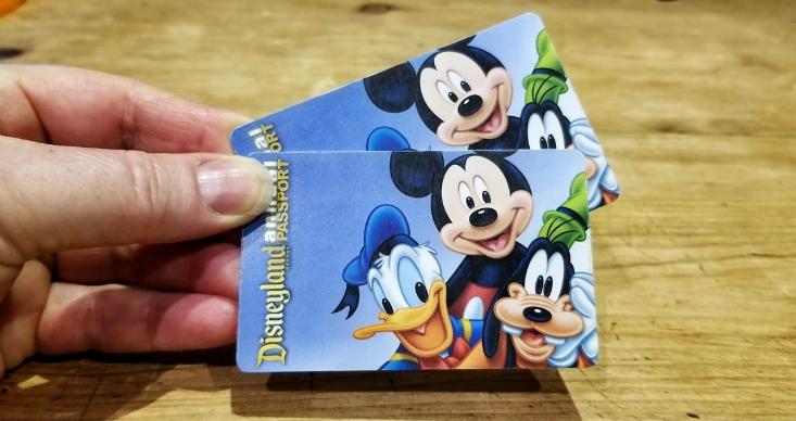 Annual passes for the Disneyland Resort