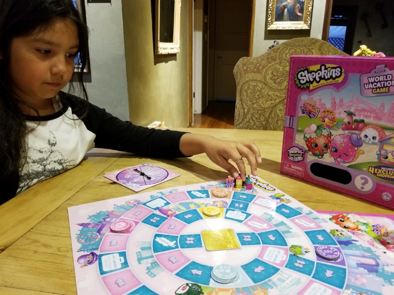 Shopkins World Vacation Game was a top pick for my girl, she is fascinated with traveling!