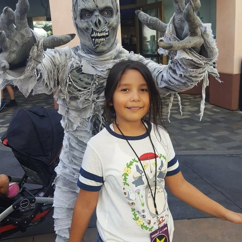 The Mummy at Universal Studios Hollywood (c) Cleverly Catheryn
