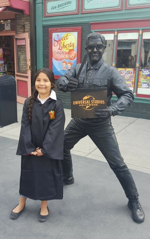 Characters at Universal Studios Hollywood