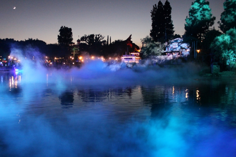 Rivers of America always get into the mood during Halloween Time!