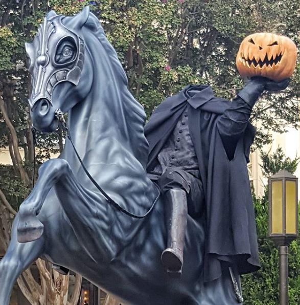 Headless Horseman at Disney California Adventure (c) Cleverly Catheryn