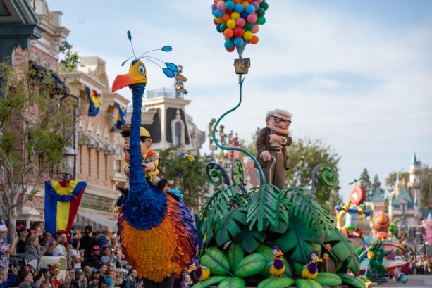Pixar Play Parade Photo Via Disney Parks Blog