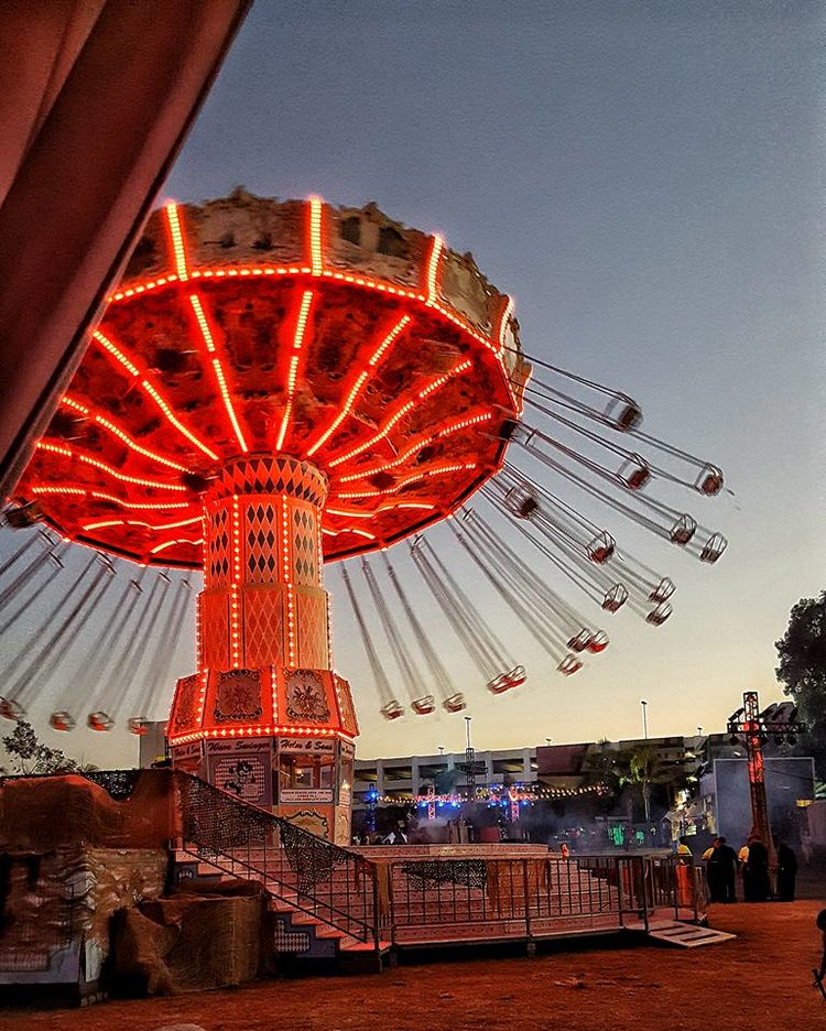 Sinister Swings at Queen Mary's Dark Harbor