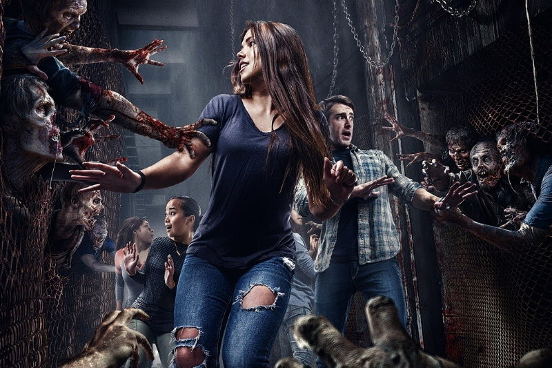 The Walking Dead, Universal Studios Hollywood's permanent attraction inspired by AMC's record-breaking television series