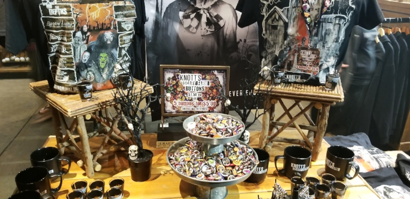 2018 Knott's Scary Farm Merchandise