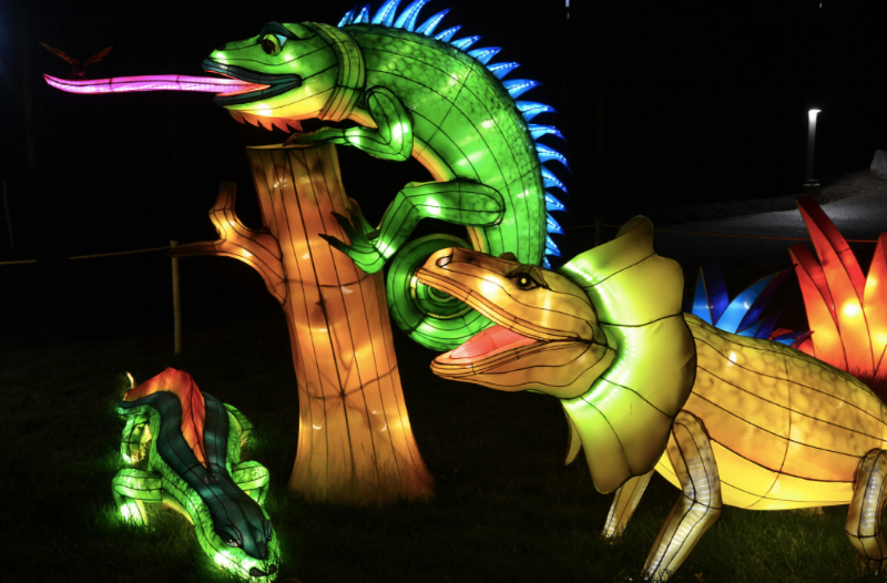 Chinese Lantern Festival at Fairplex in Pomona