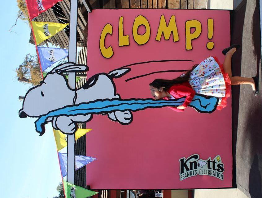 Peanuts Celebration at Knott's Berry Farm (c) Cleverly Catheryn