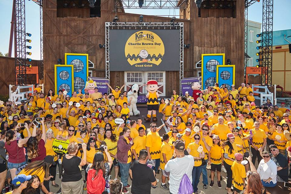 Charlie Brown Day at Knott's Berry Farm 2018