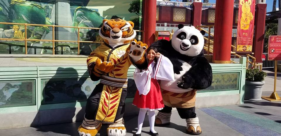Meet and Greet with Po and Tigress