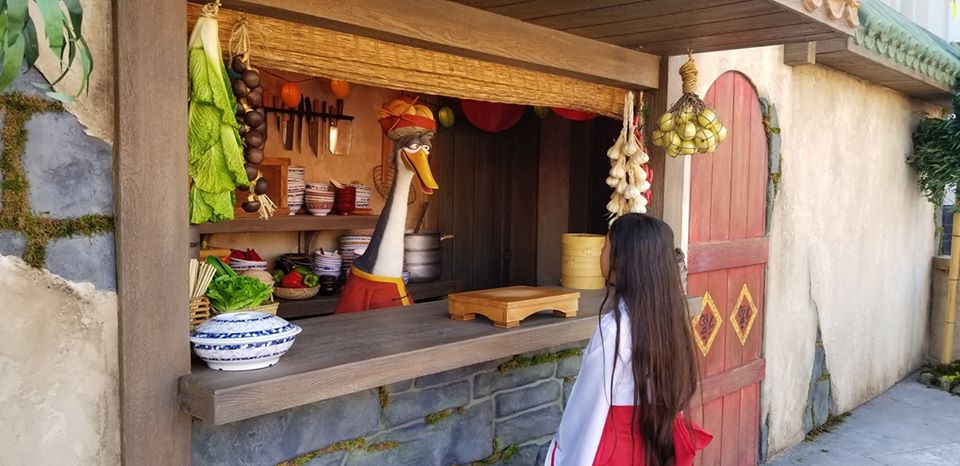 Lunar New Year Mr. Pings Noodle Shop at Universal Studios Hollywood (c) Cleverly Catheryn