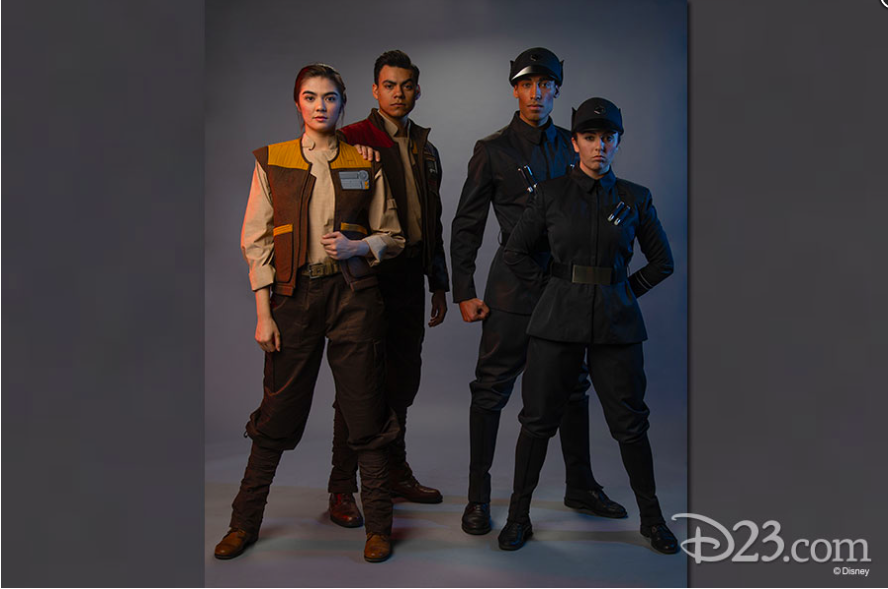 Cast Members Costumes Resistance and First Order, which side do you choose?