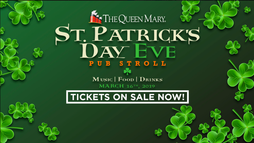 The Queen Mary St Patricks Day Pub Stroll