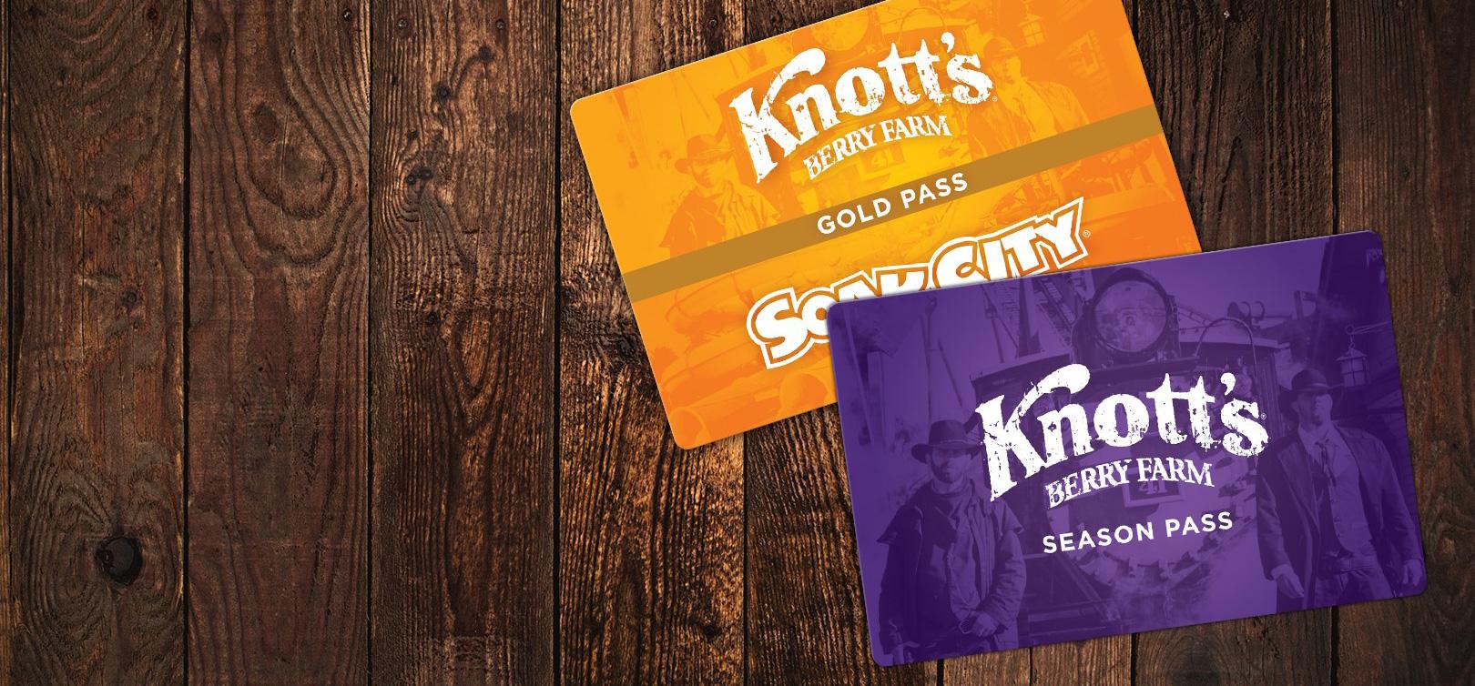 Knott's Season passes.jpg
