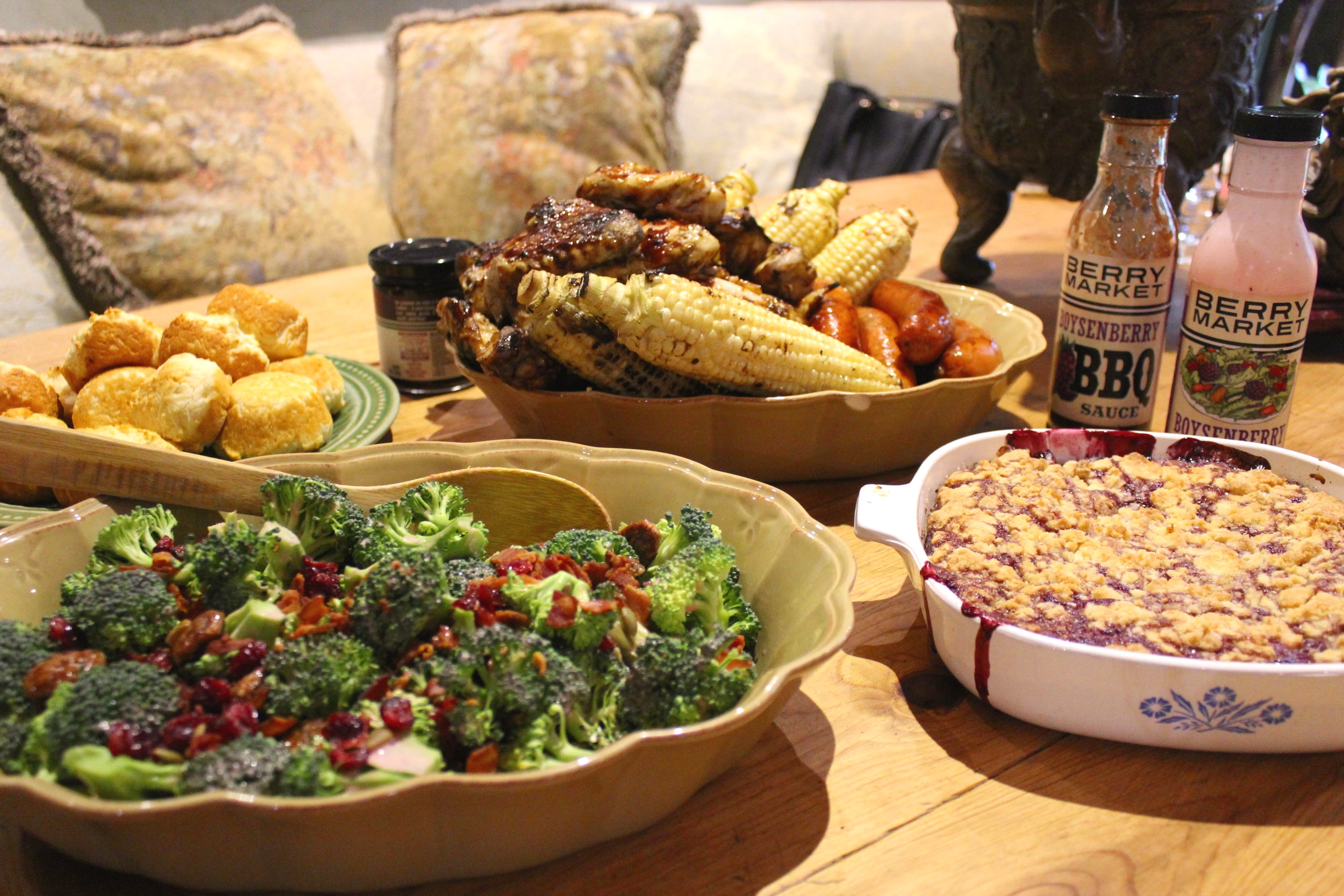 IMG_6375.jpgKnotts Boysenberry Broccoli Salad (c) Cleverly Catheryn