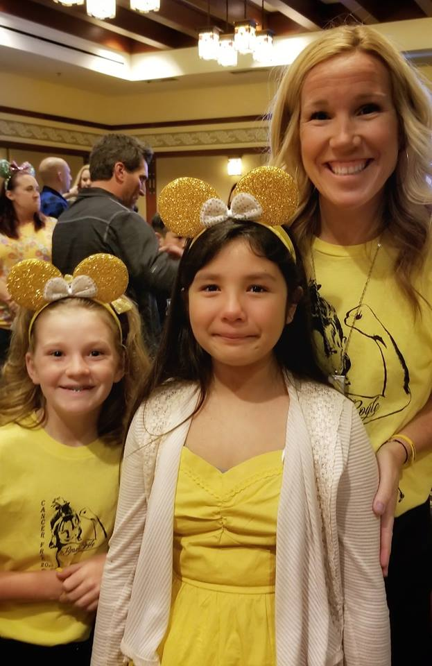 I think it was meant to be! We will be wearing Yellow this year for Ella! My daughter with Ella's Sister and Mom