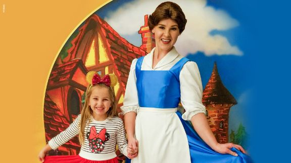 Storytime with Belle and Mickey Disney On Ice