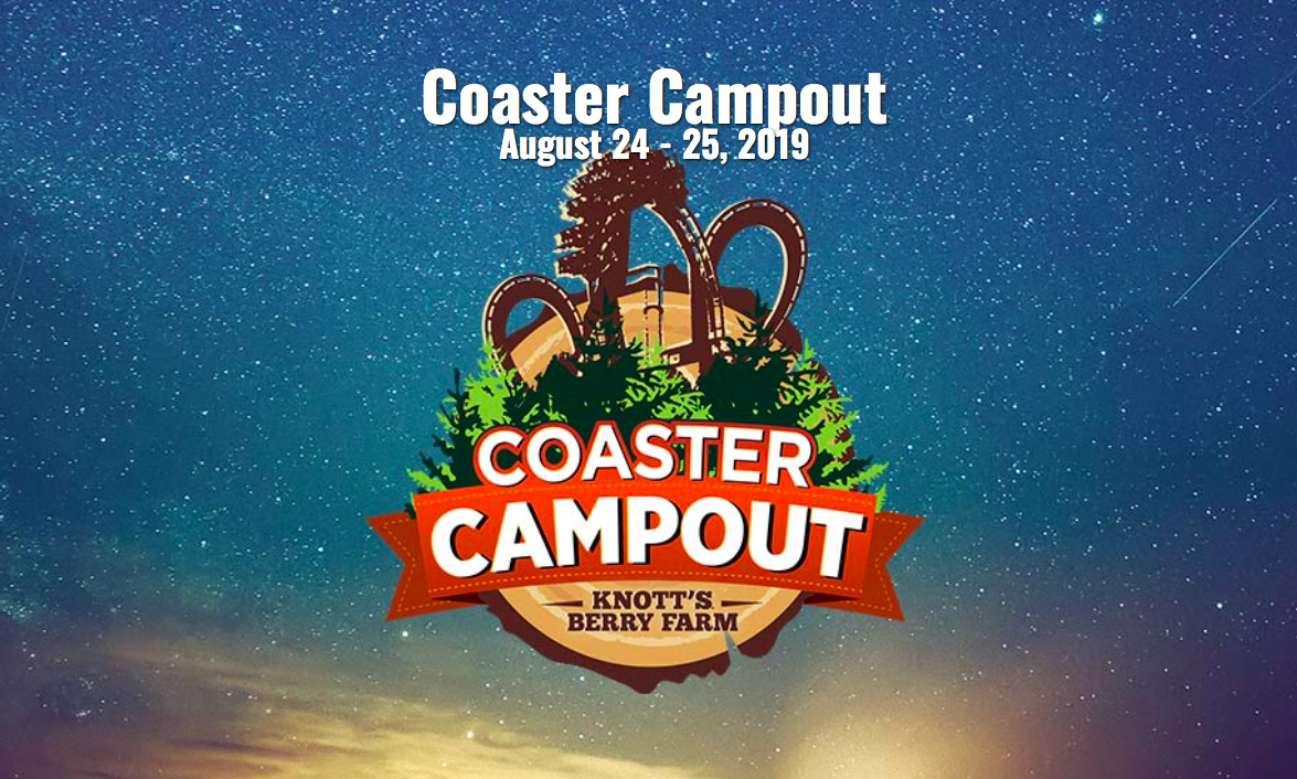 Coaster campout at Knott's Berry Farm (c) Cleverly Catheryn