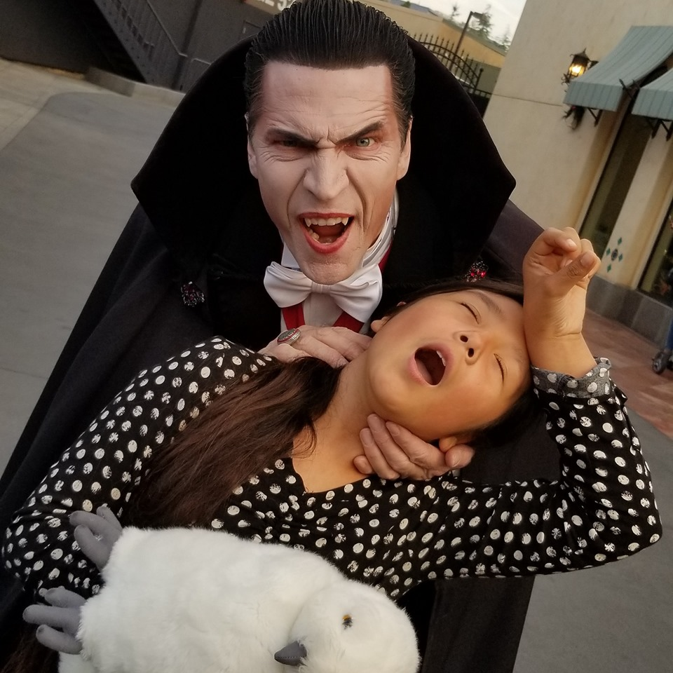 Dracula at Universal Studios Hollywood (c) Cleverly Catheryn