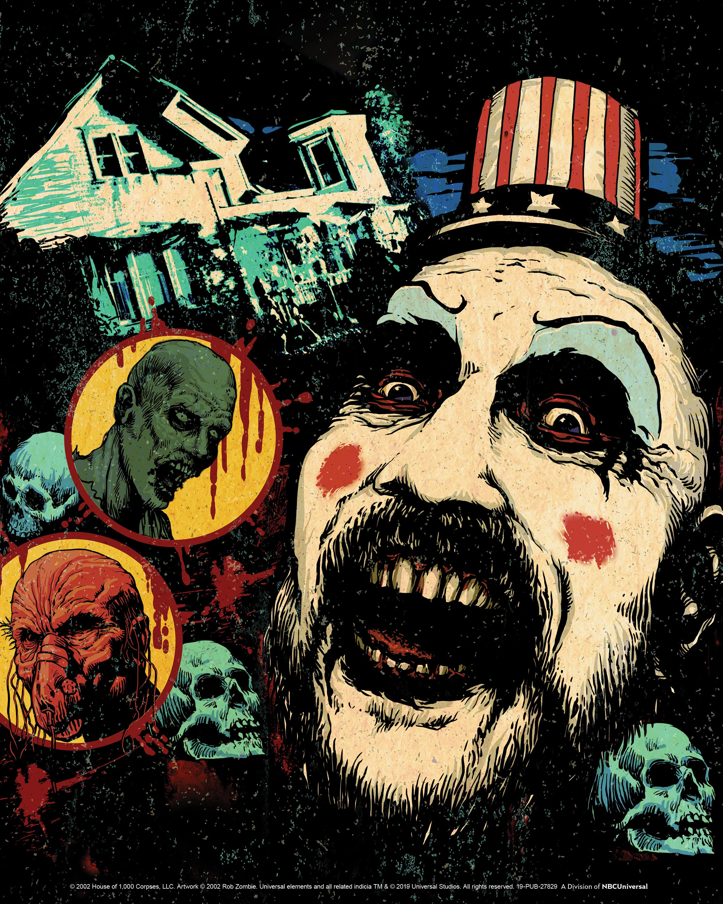 House of 1000 Corpses maze at HHN 2019.jpg