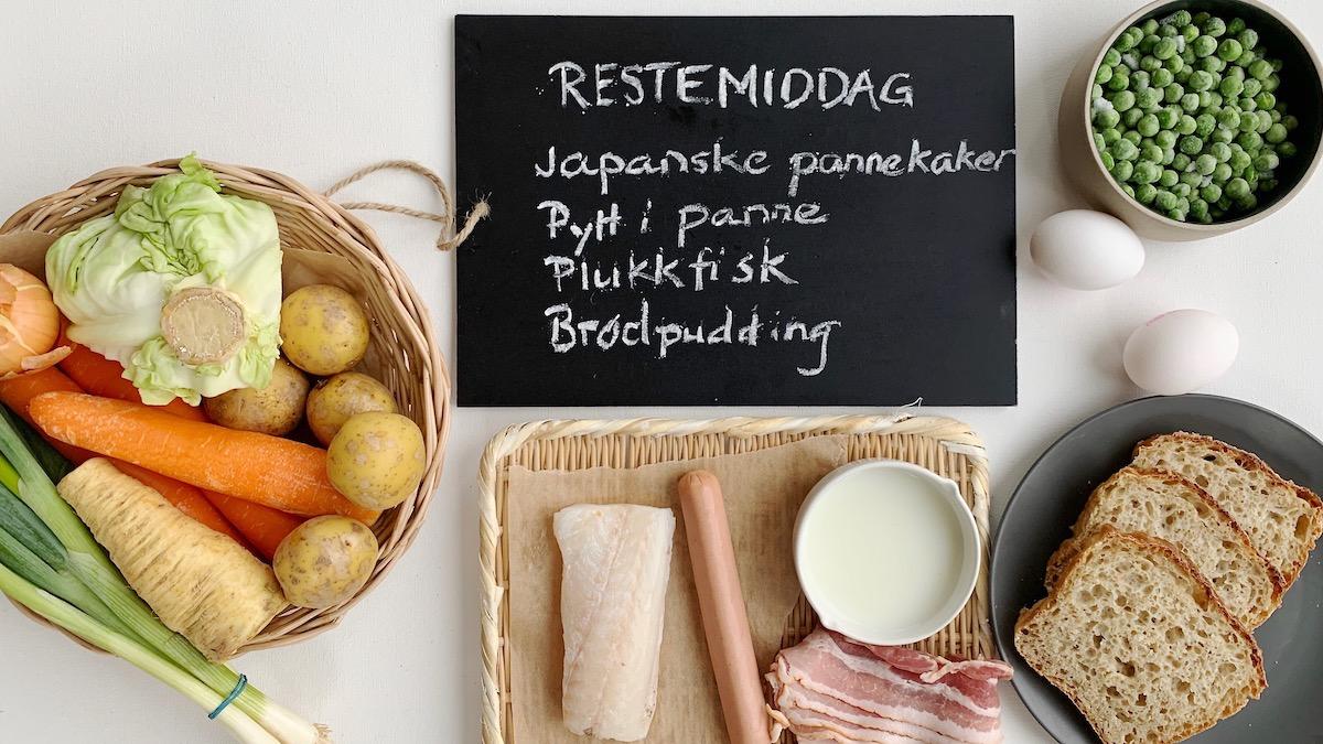 Hva med å innføre en fast dag til å spise rester hjemme hos dere? Ta en titt i kjøleskapet og bruk en av disse oppskriftene som utgangspunkt til en herlig restemiddag.
