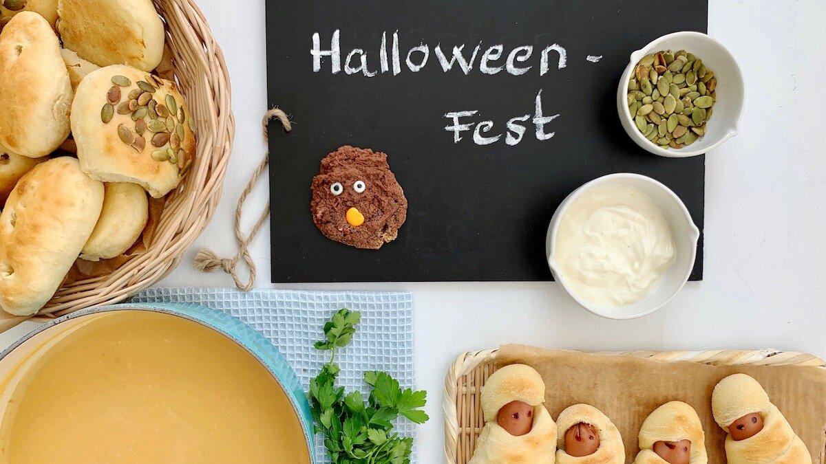 Hva setter du på menyen når du inviterer til Halloween-fest? Her får du tips og oppskrifter!