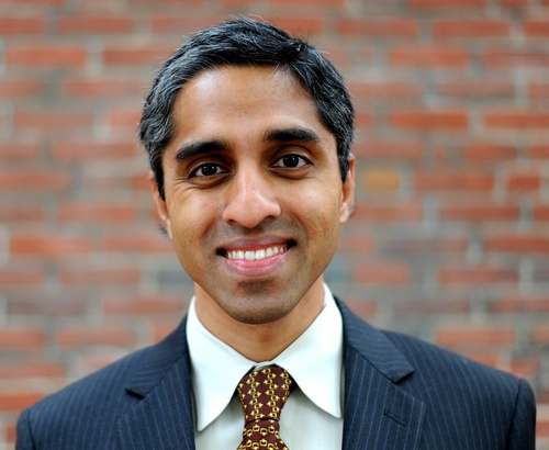 Vivek Hallegere Murthy is an American physician, a vice admiral in the Public Health Service Commissioned Corps, and the 19th Surgeon General of the United States.