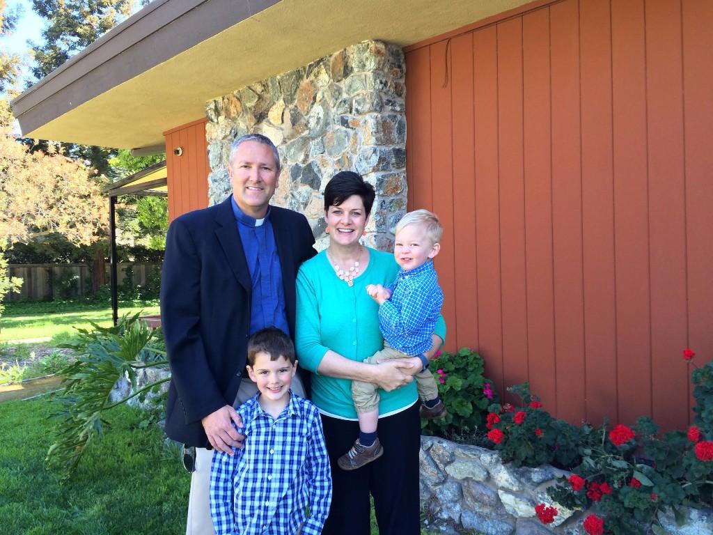 Pr Derek and his family