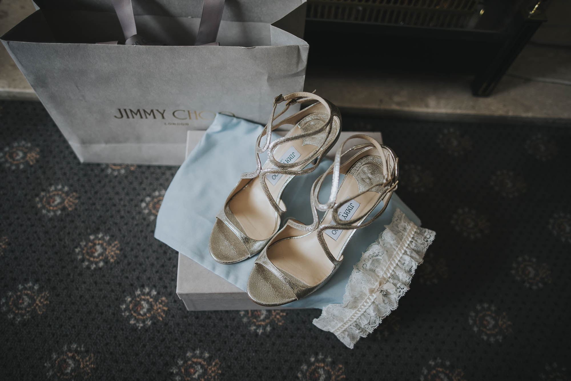 Brook Farm Wedding Photographer+Modern Hertfordshire Wedding Photographer+Creative Essex Wedding Photographer+Jimmy Choo shoes