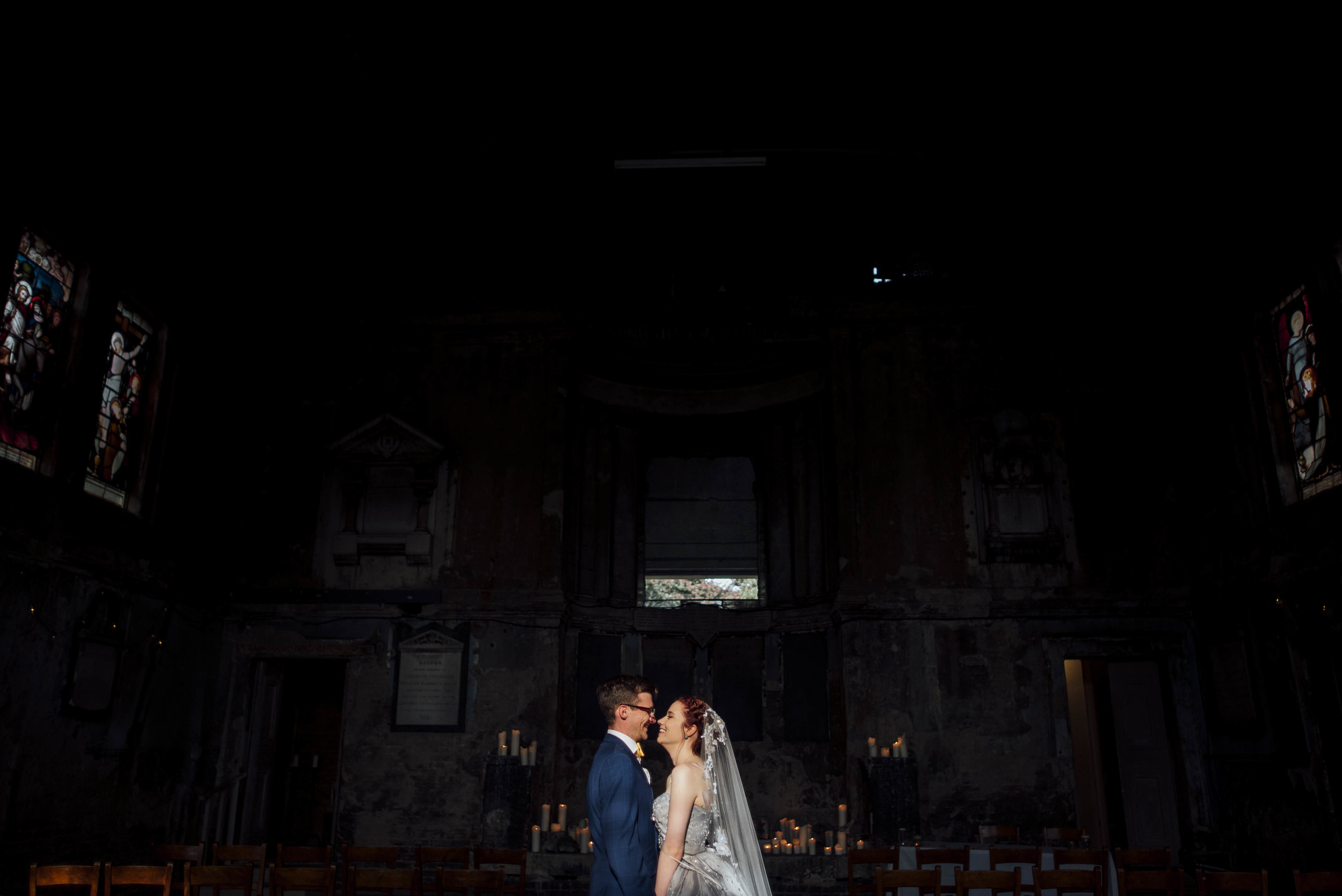Asylum Chapel Wedding