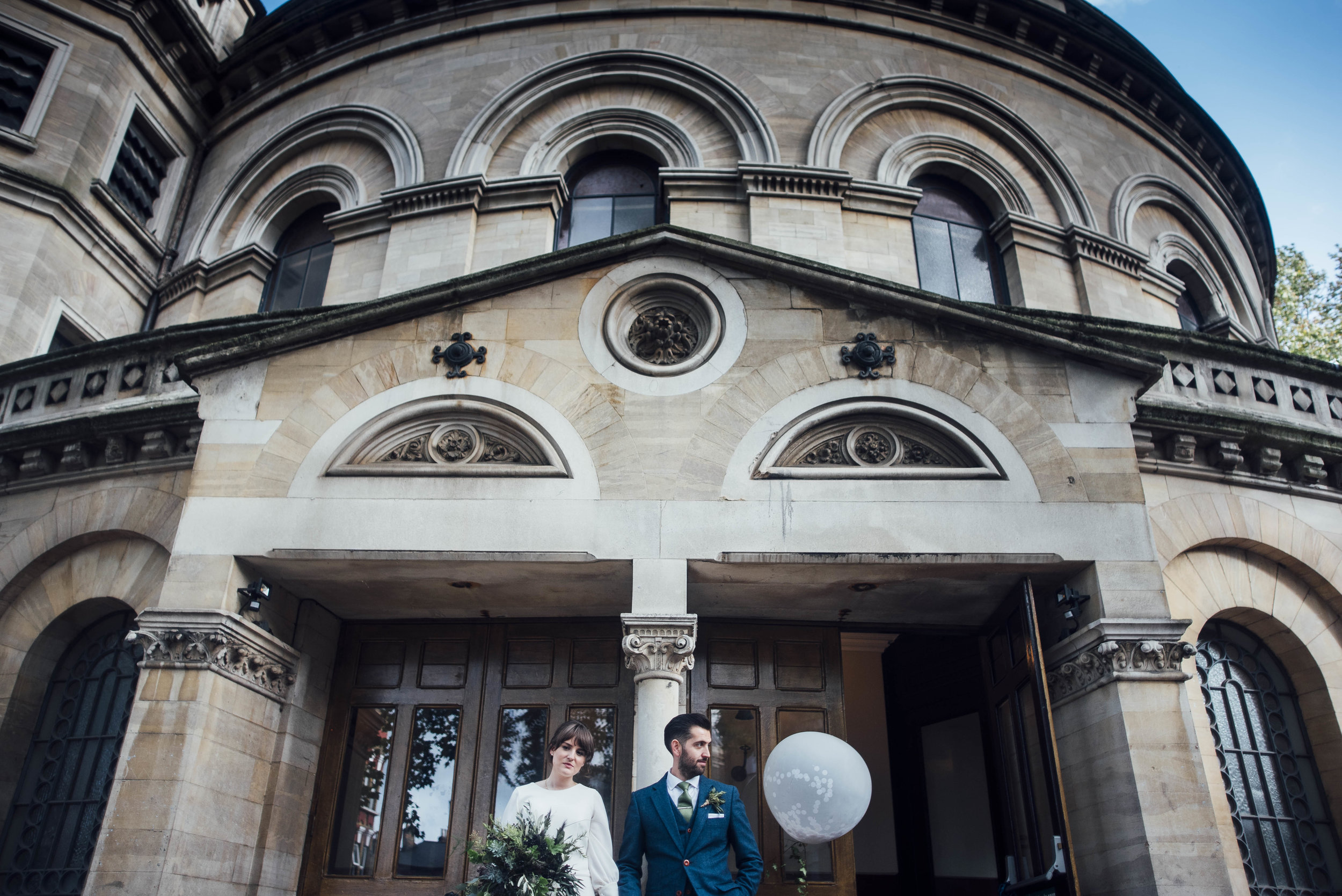 Round Chapel Wedding