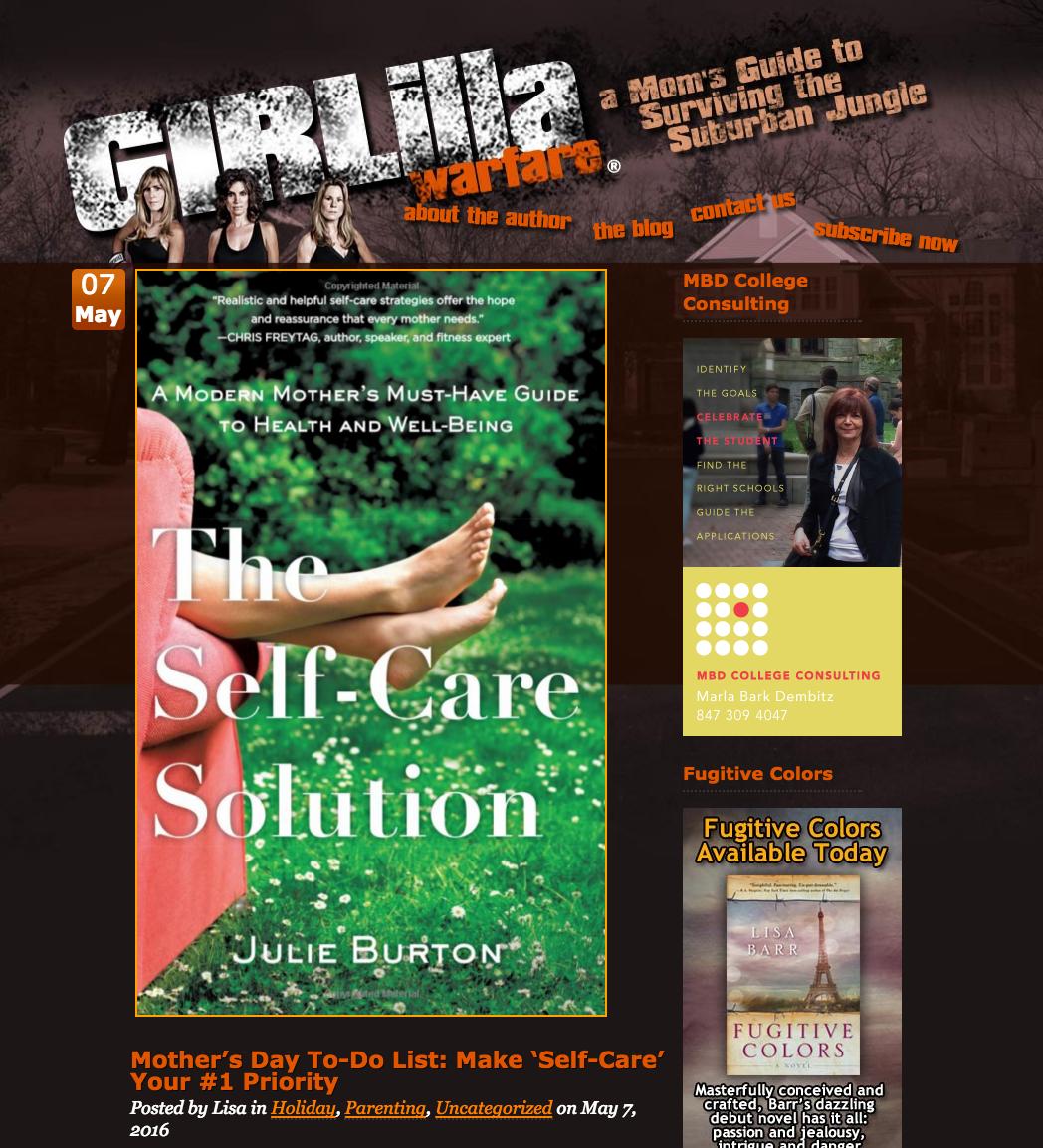 Girlilla-Warfare-Julie-Burton-Self-Care-Solution