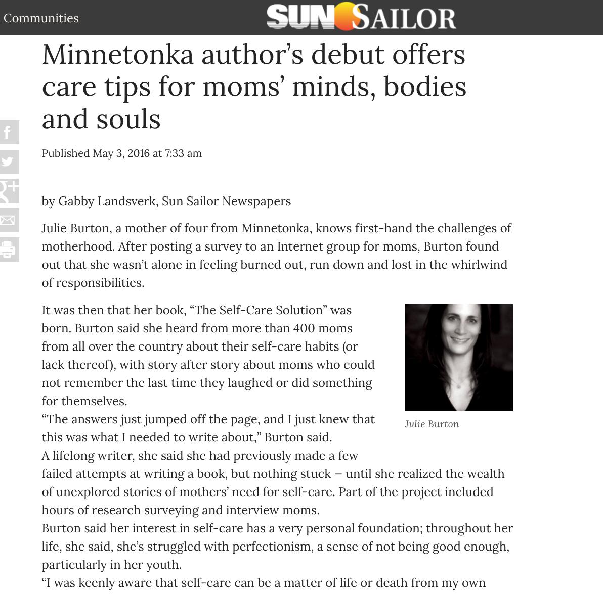 Minnesota-Sun-Sailor-Julie-Burton-Self-Care-Solution