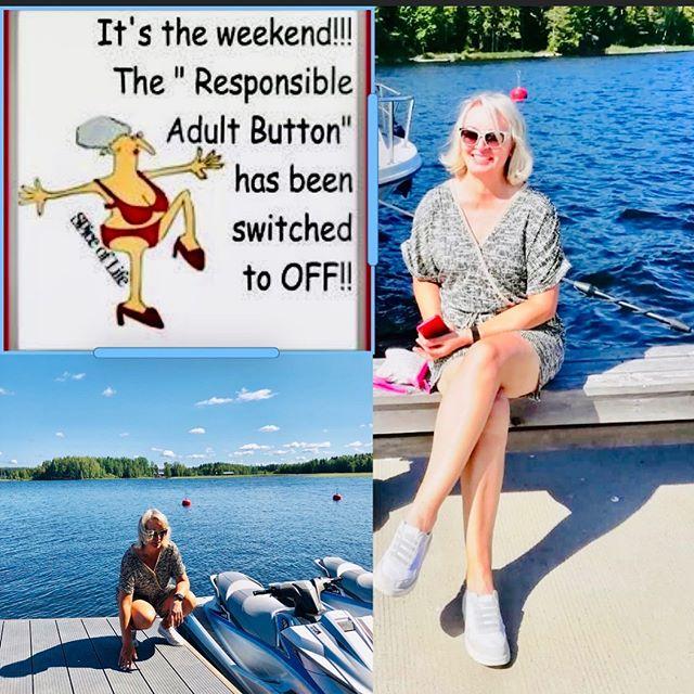 Lämmintä viikonloppua kaikille☀️ Huomenna olemme avoinna 9-14.00 jos tarvitset tuotteita,hoitoajat on täynnä #finnishsummer #summerinfinland #lakepäijänne #boating #boatingseason #weekend #weekendtime #lovesummer #summerlove