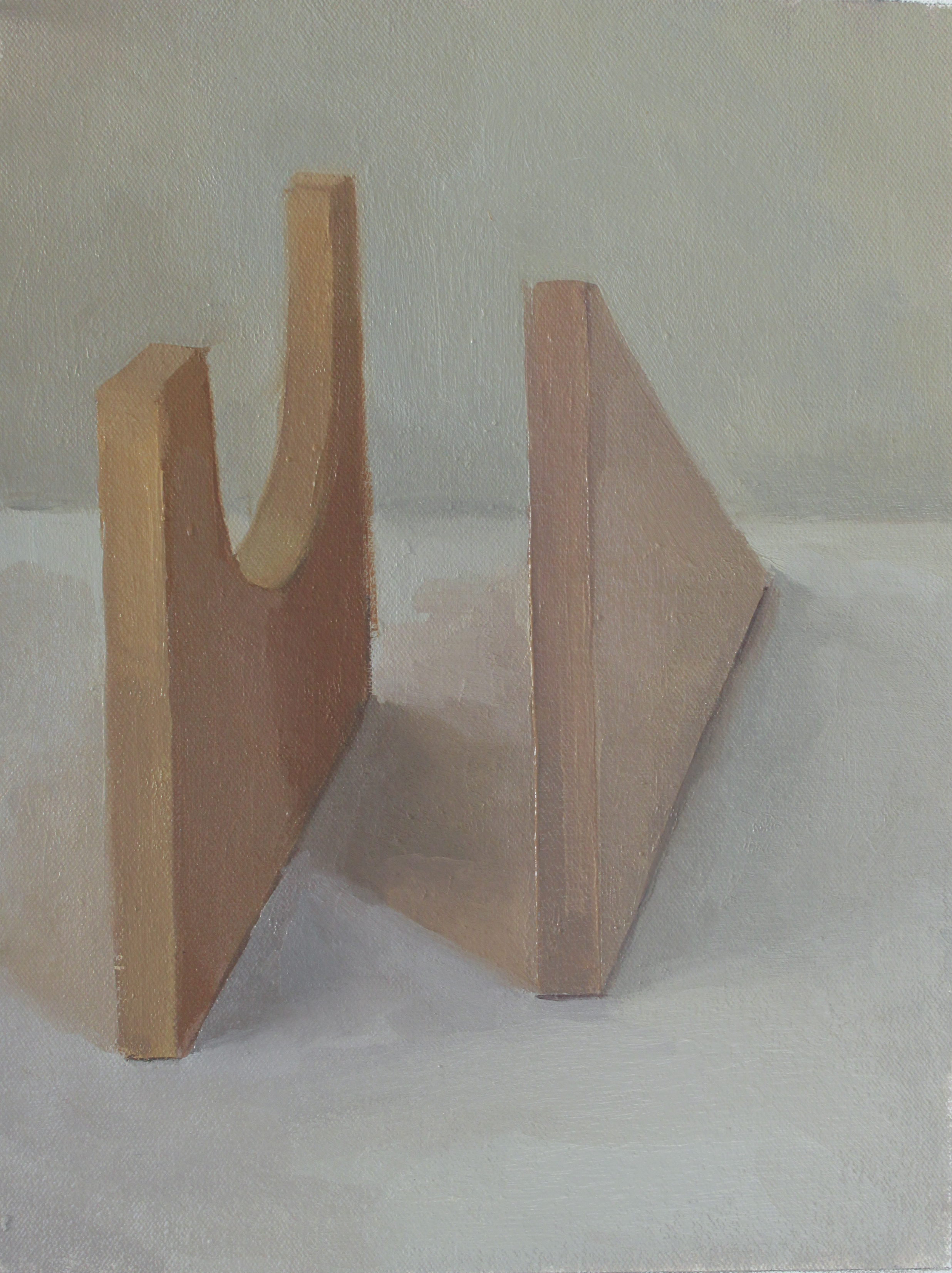 "blocks   oil on canvas  9x12""  2012"