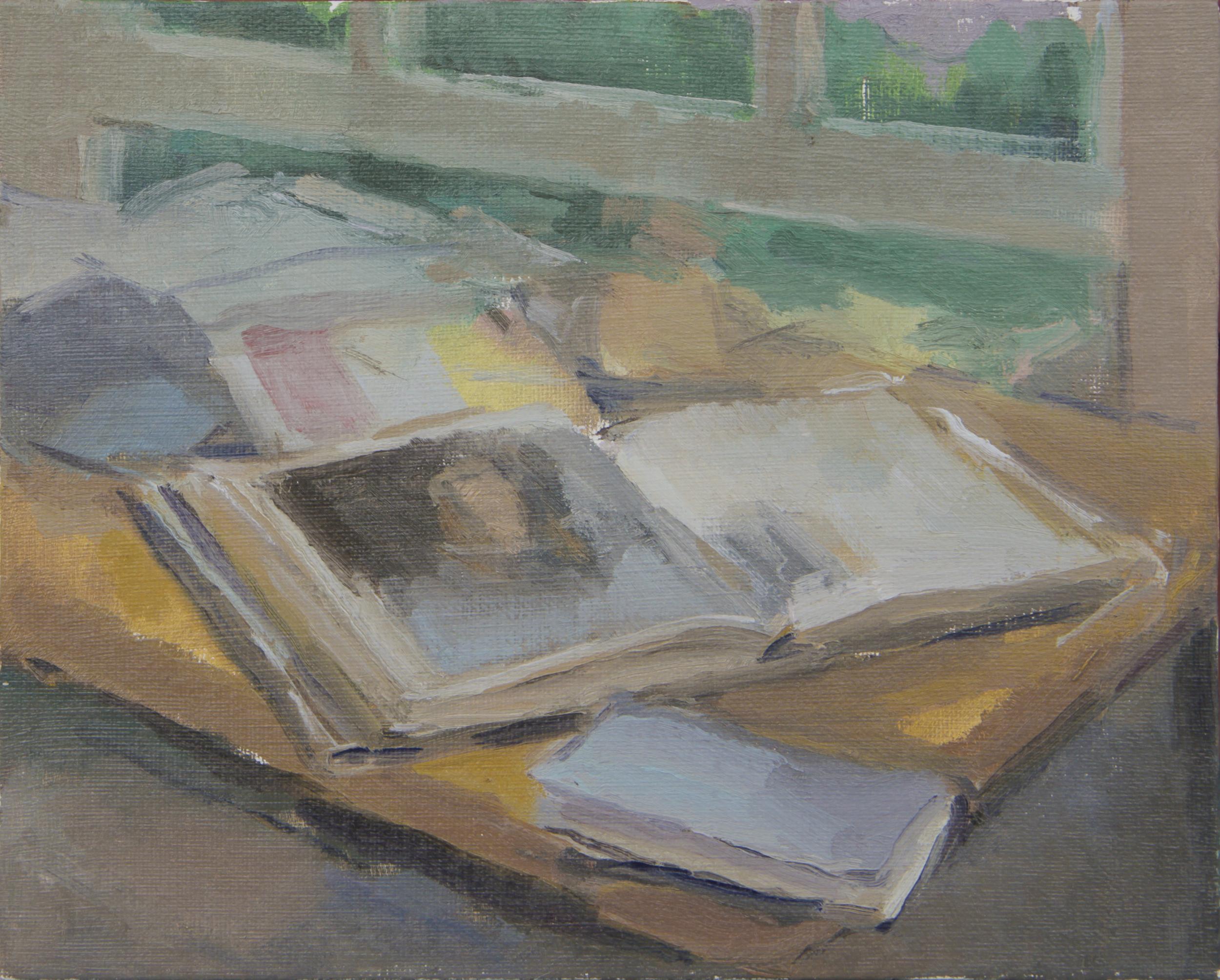 "philip IV   oil on canvas  8x10""  2014"