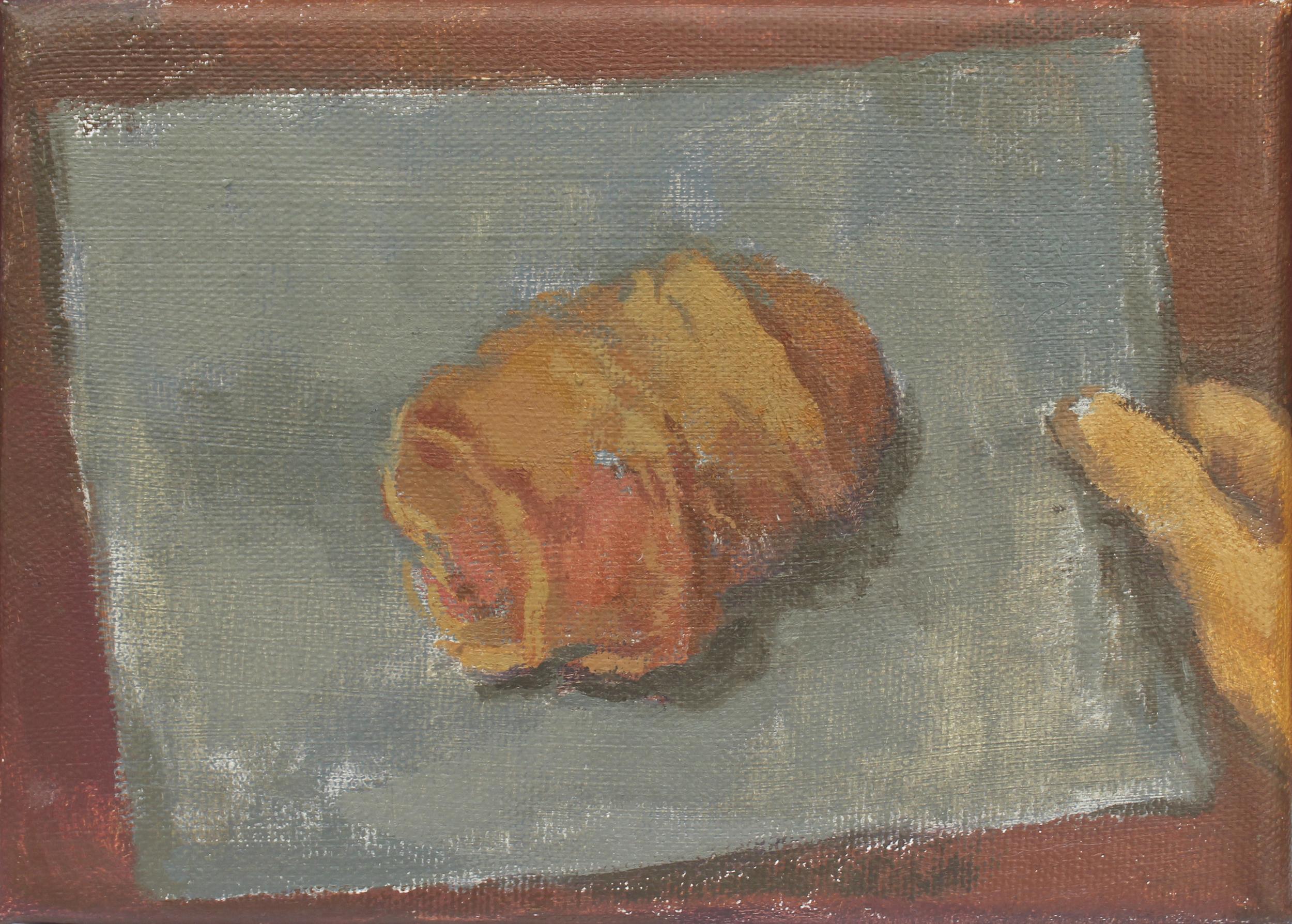"""evidence   oil on canvas  5x7""""  2015"""