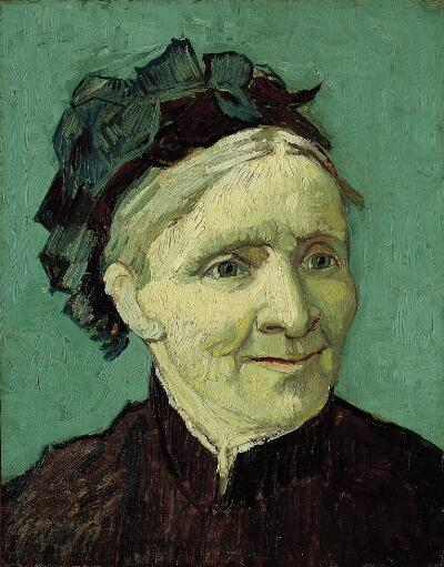 oil on canvas, 16 x 12-3/4 in. October 1888