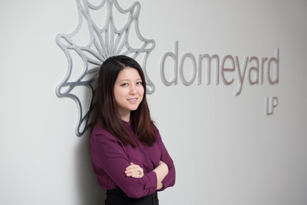 Christina Qi CEO of Domeyard