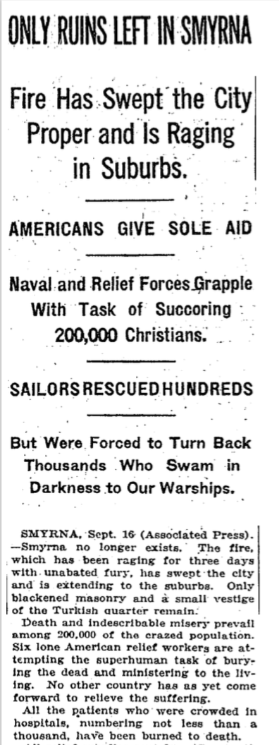 source: New York Times; 17/09/1922