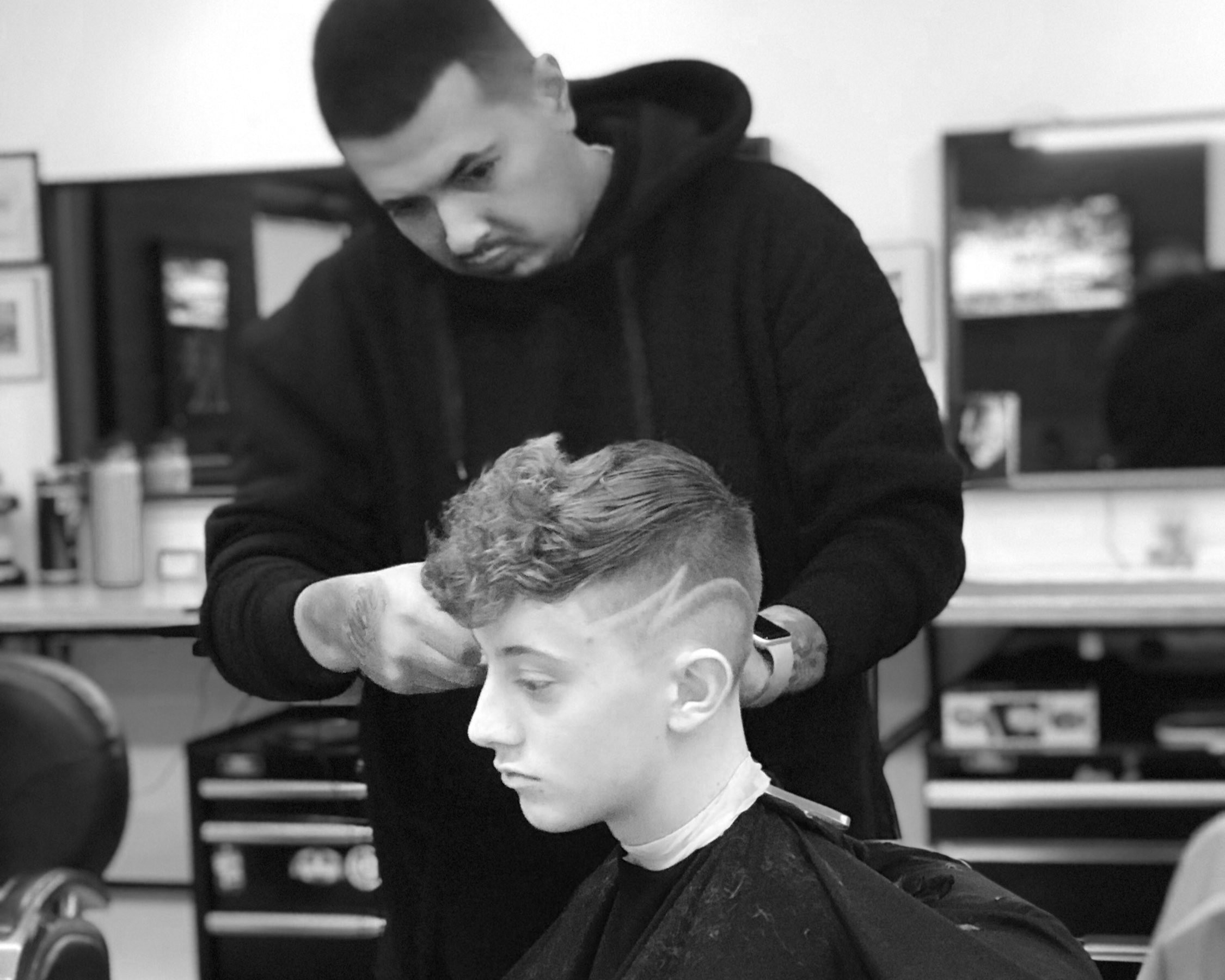 Fades, pomps tapers