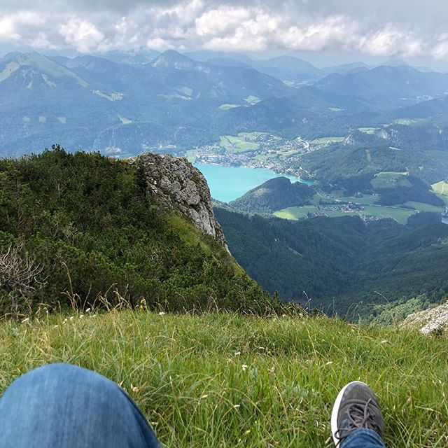 Sitting on the edge of the world. Schafberg, AT Monday 15 July, 2019 #nofilter #wywop2019