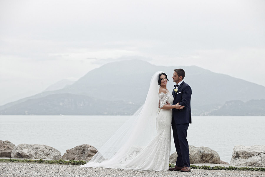 "Melissa & Alex | Sirmione, Lake Garda, Italy - ""David was a true pleasure to work with. We are so happy with how he captured our wedding. Thank you David for such amazing work. Hope to see you soon."""