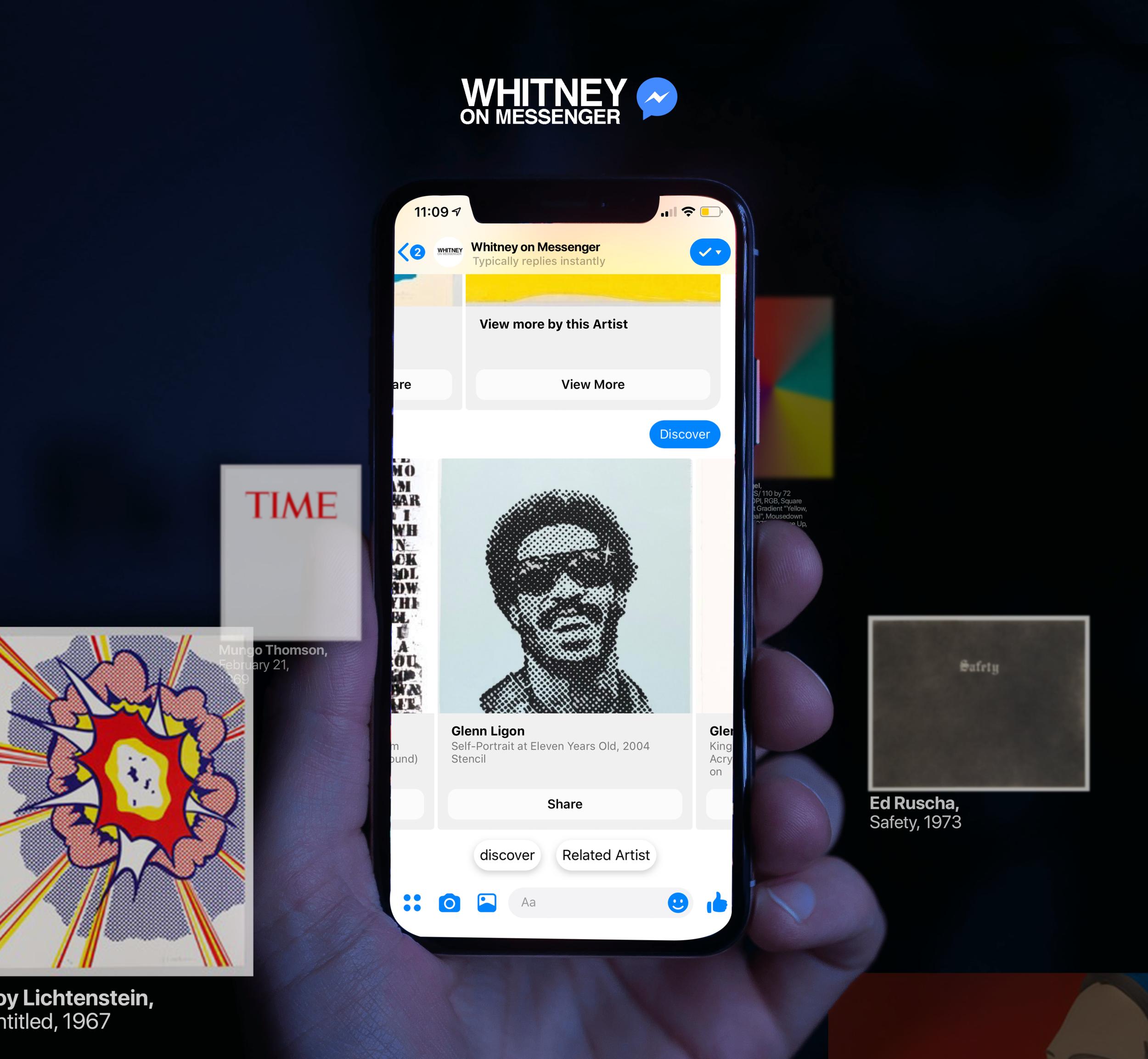 Whitney on Messenger